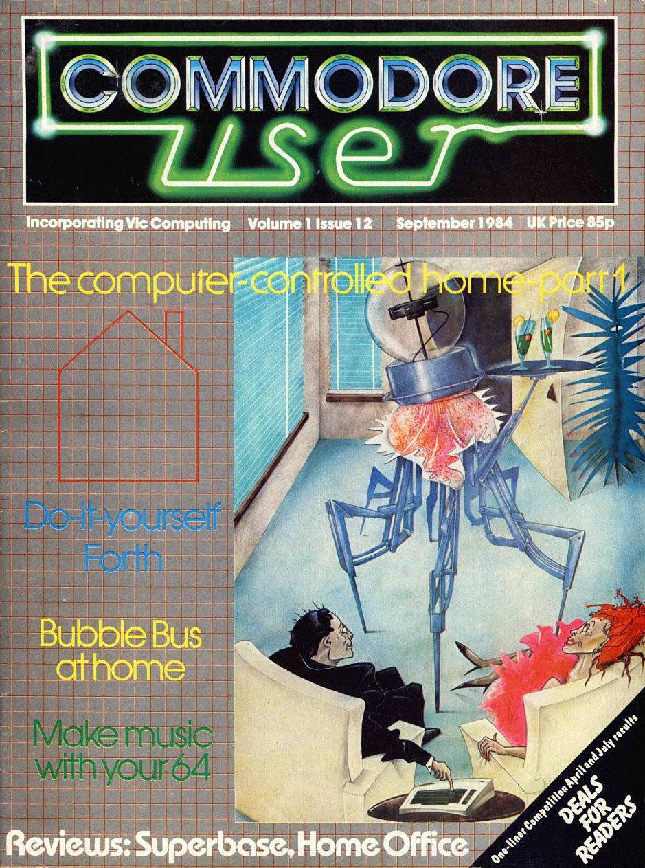 Commodore User Issue 12 (September 1984)