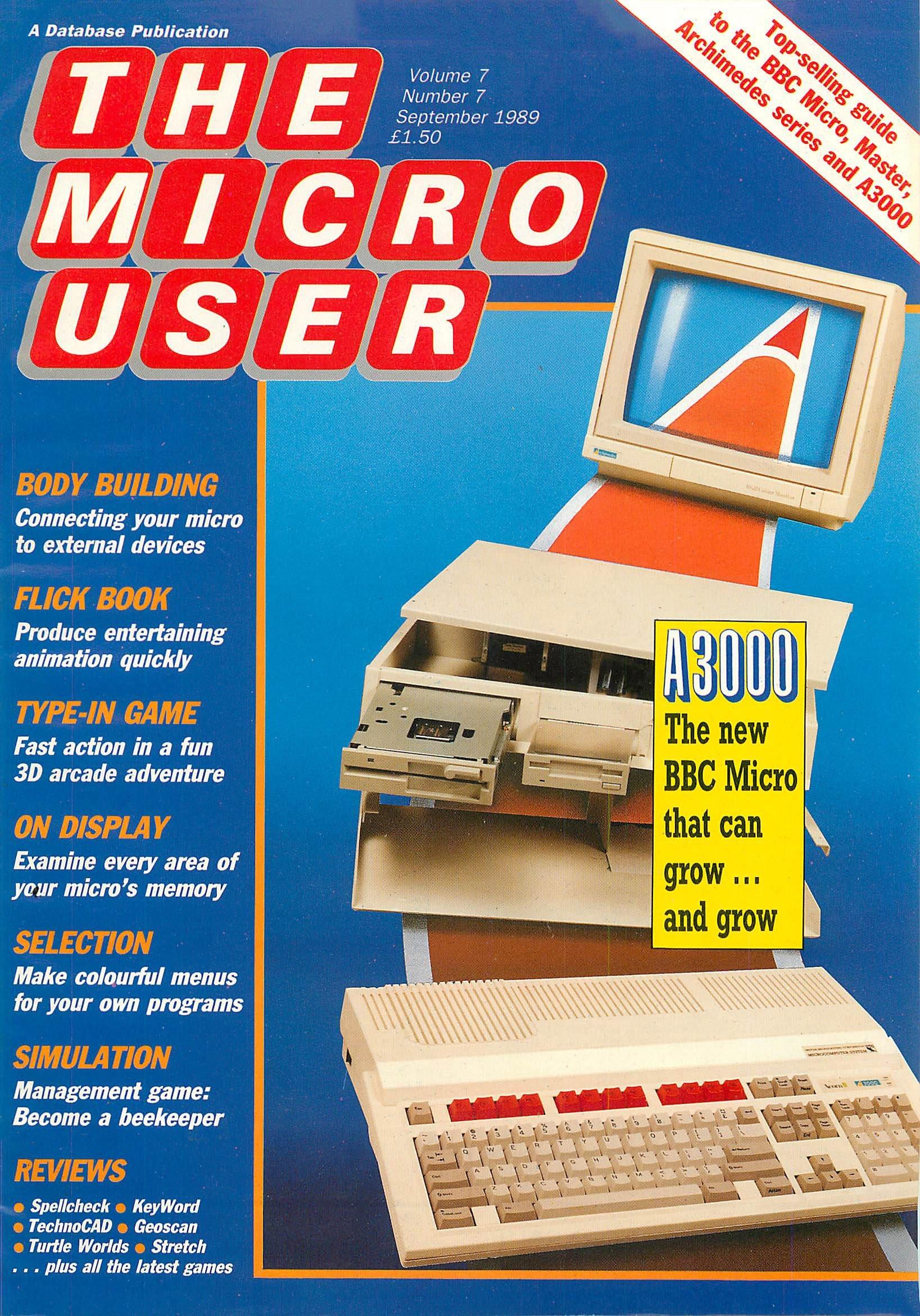 The Micro User Vol.07 No.07 (September 1989)