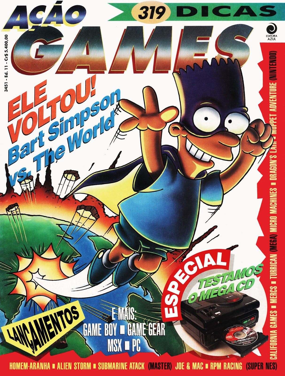 Acao Games Issue 011 (March 1992)