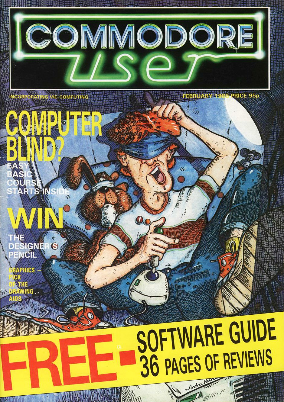 Commodore User Issue 17 (February 1985)