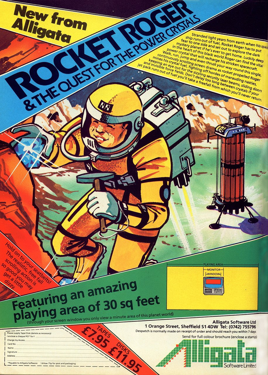 Rocket Roger & the Quest For the Power Crystals