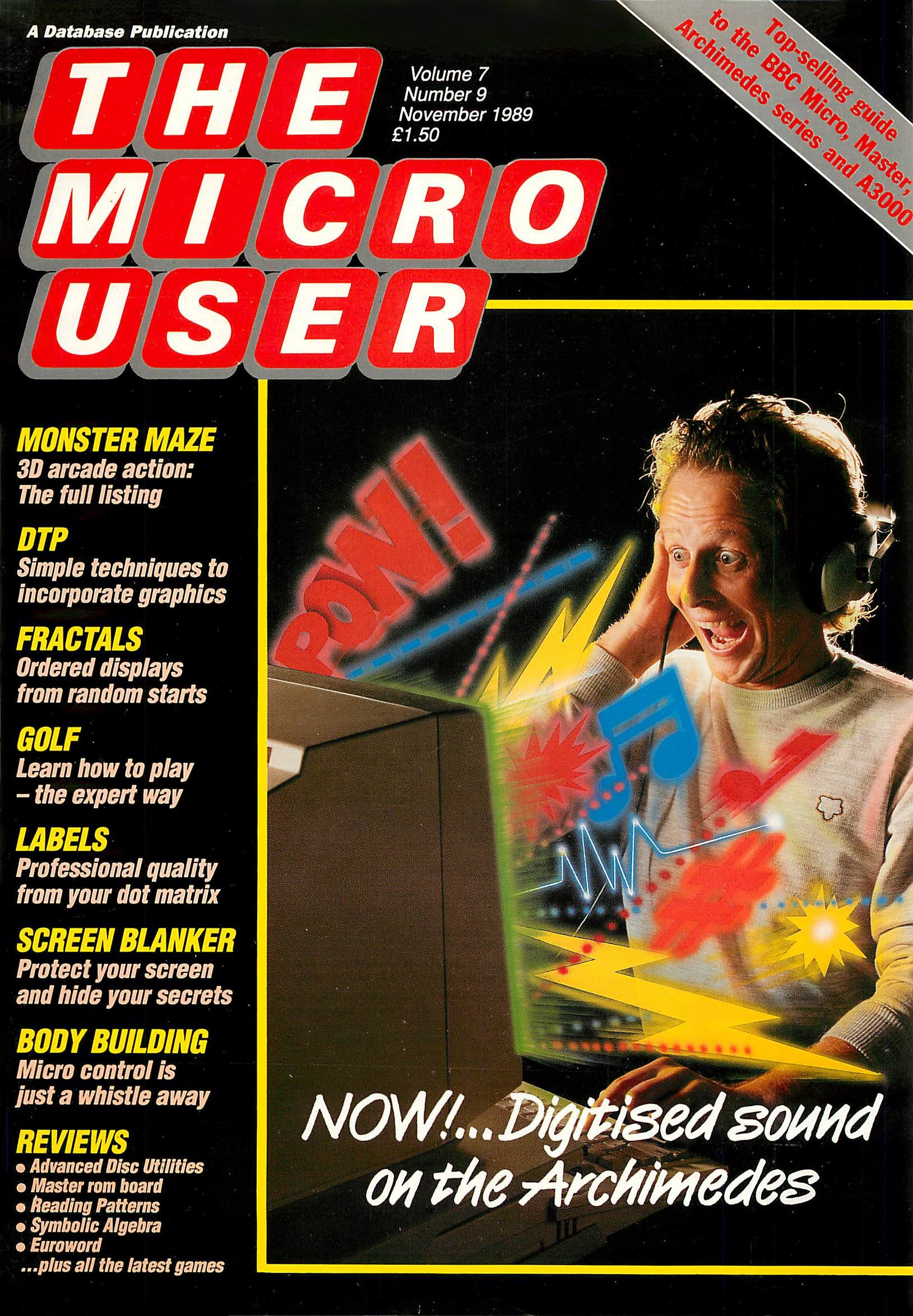The Micro User Vol.07 No.09 (November 1989)