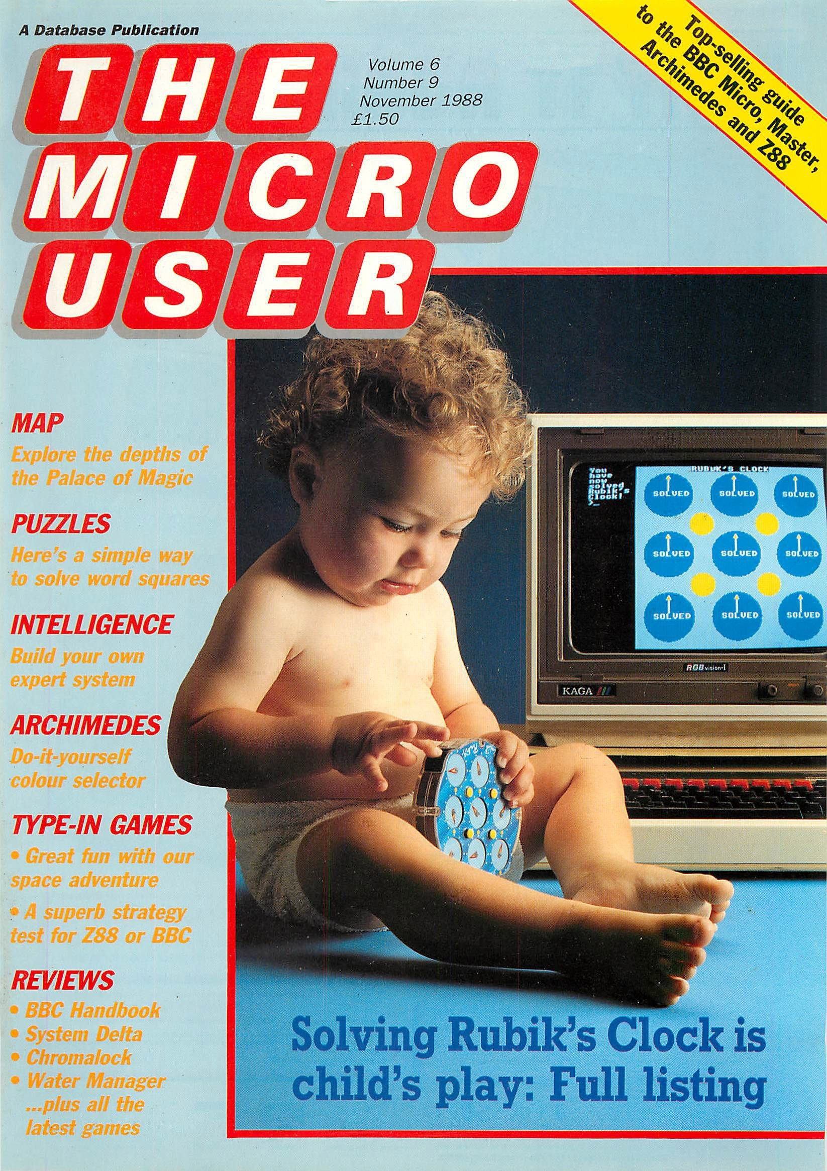 The Micro User Vol.06 No.09 (November 1988)