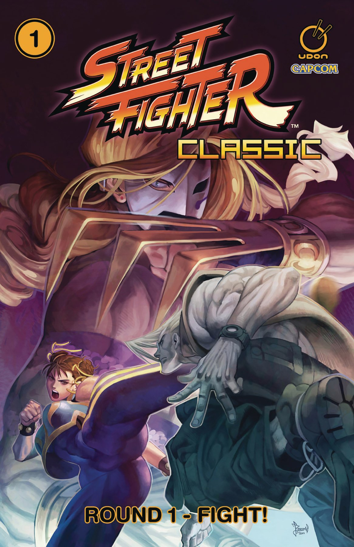 Street Fighter Classic TPB Vol.1 Round 1 - Fight!