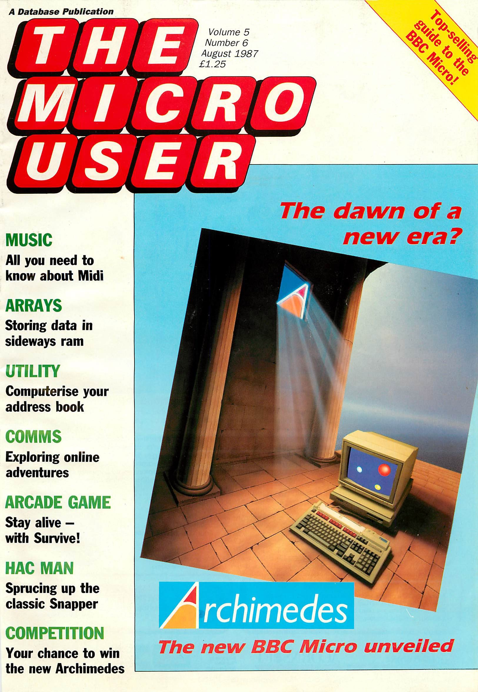 The Micro User Vol.05 No.06 (August 1987)