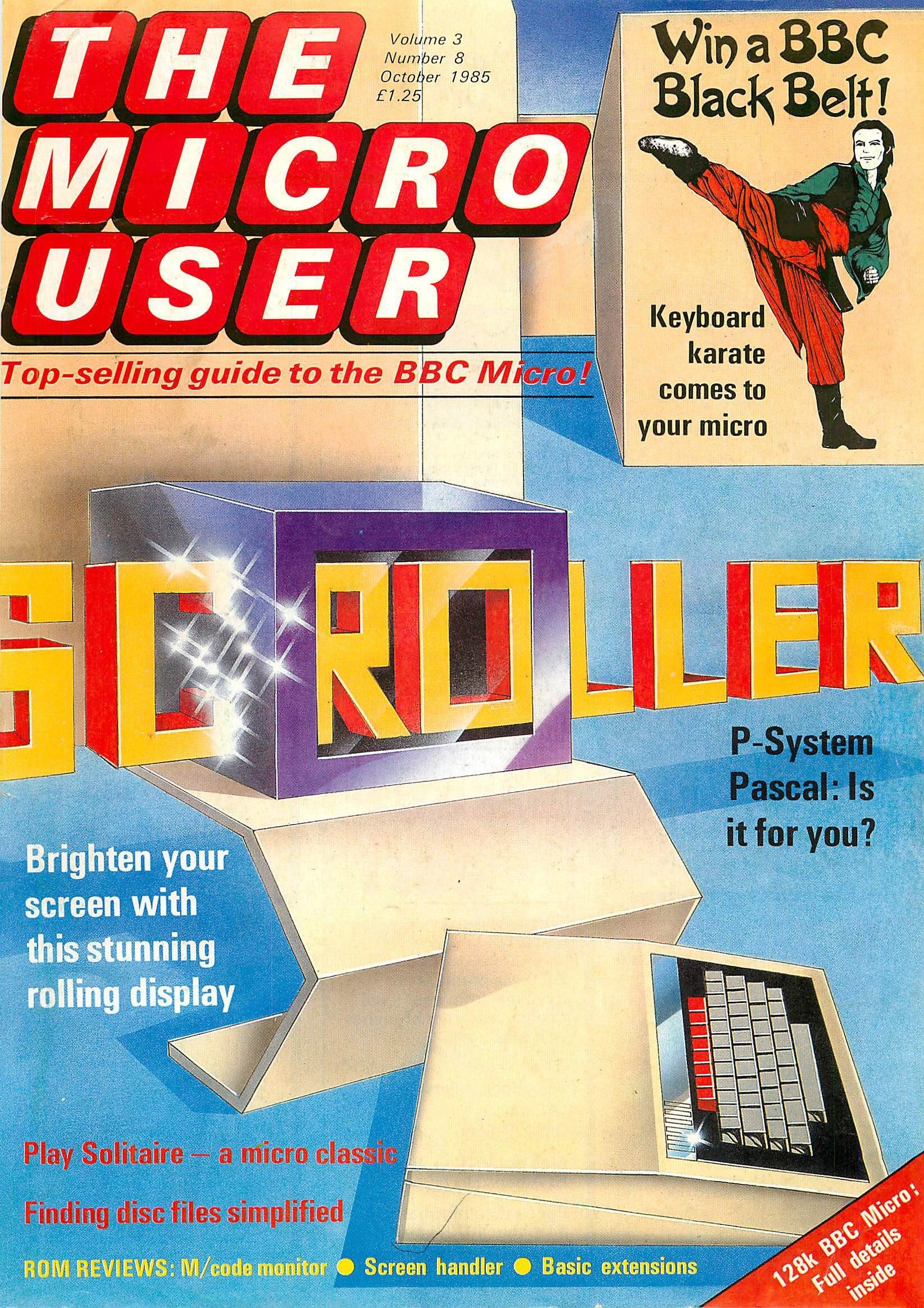 The Micro User Vol.03 No.08 (October 1985)