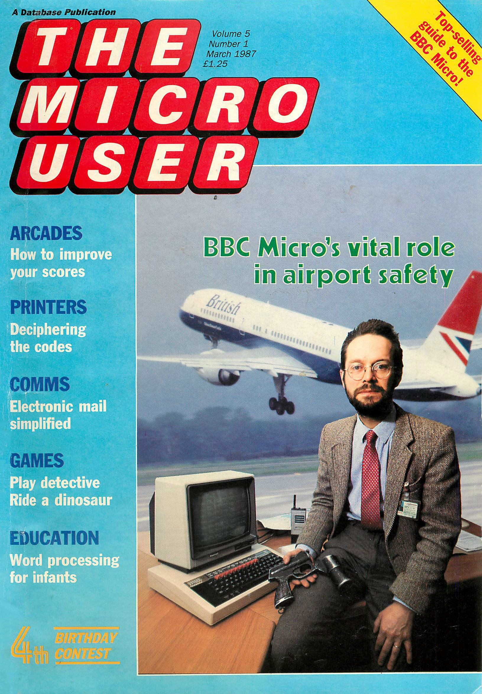 The Micro User Vol.05 No.01 (March 1987)