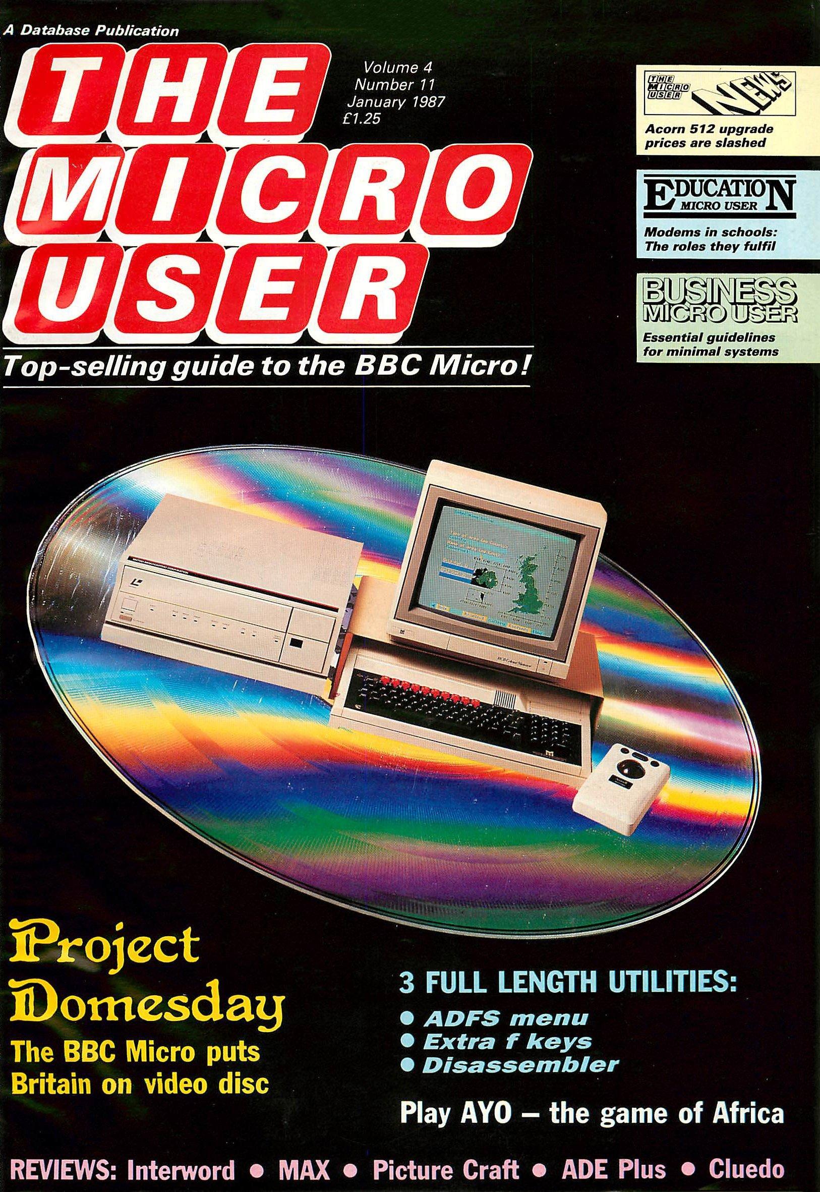 The Micro User Vol.04 No.11 (January 1987)