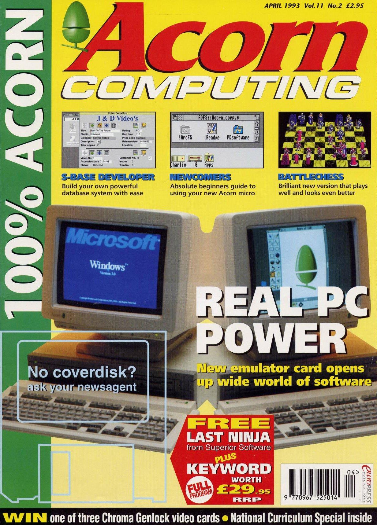 Acorn Computing Vol.11 No.02 (April 1993)