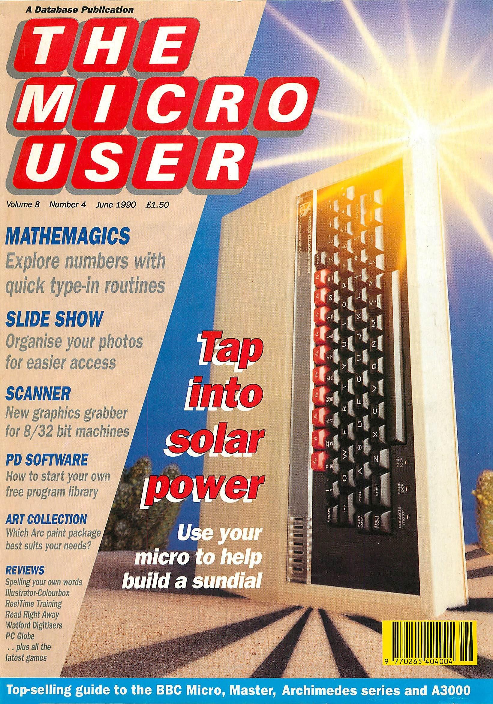 The Micro User Vol.08 No.04 (June 1990)
