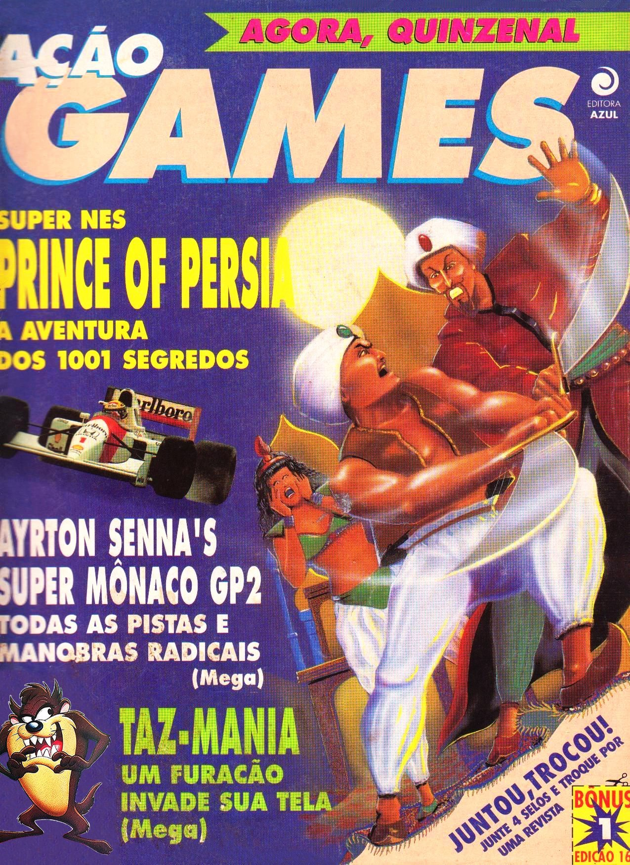 Acao Games Issue 016 (August 1992)