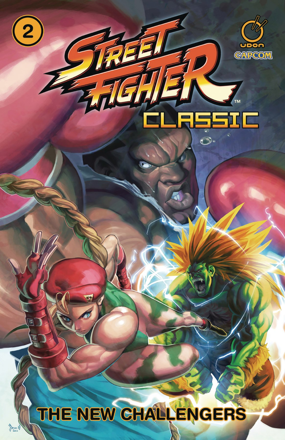 Street Fighter Classic TPB Vol.2 - The New Challengers
