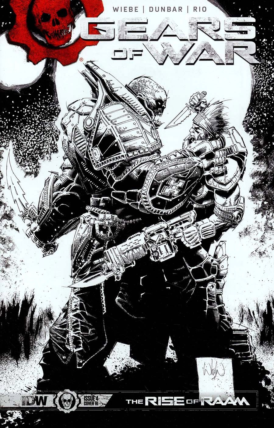 Gears of War: The Rise of Raam 004 (April 2018) (Cover C retailer incentive)