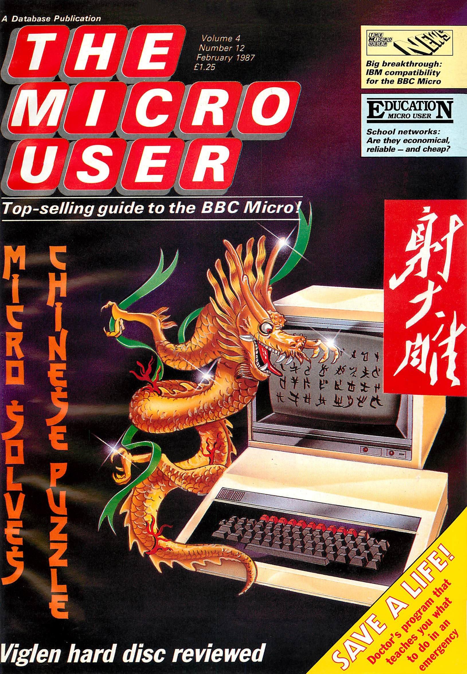 The Micro User Vol.04 No.12 (February 1987)