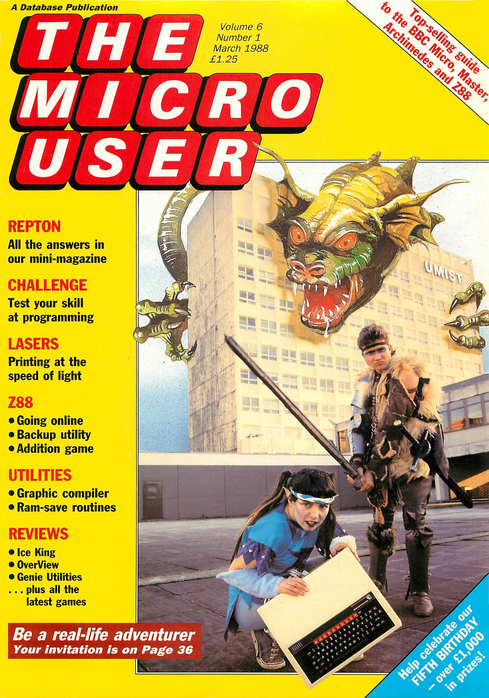 The Micro User Vol.06 No.01 (March 1988)