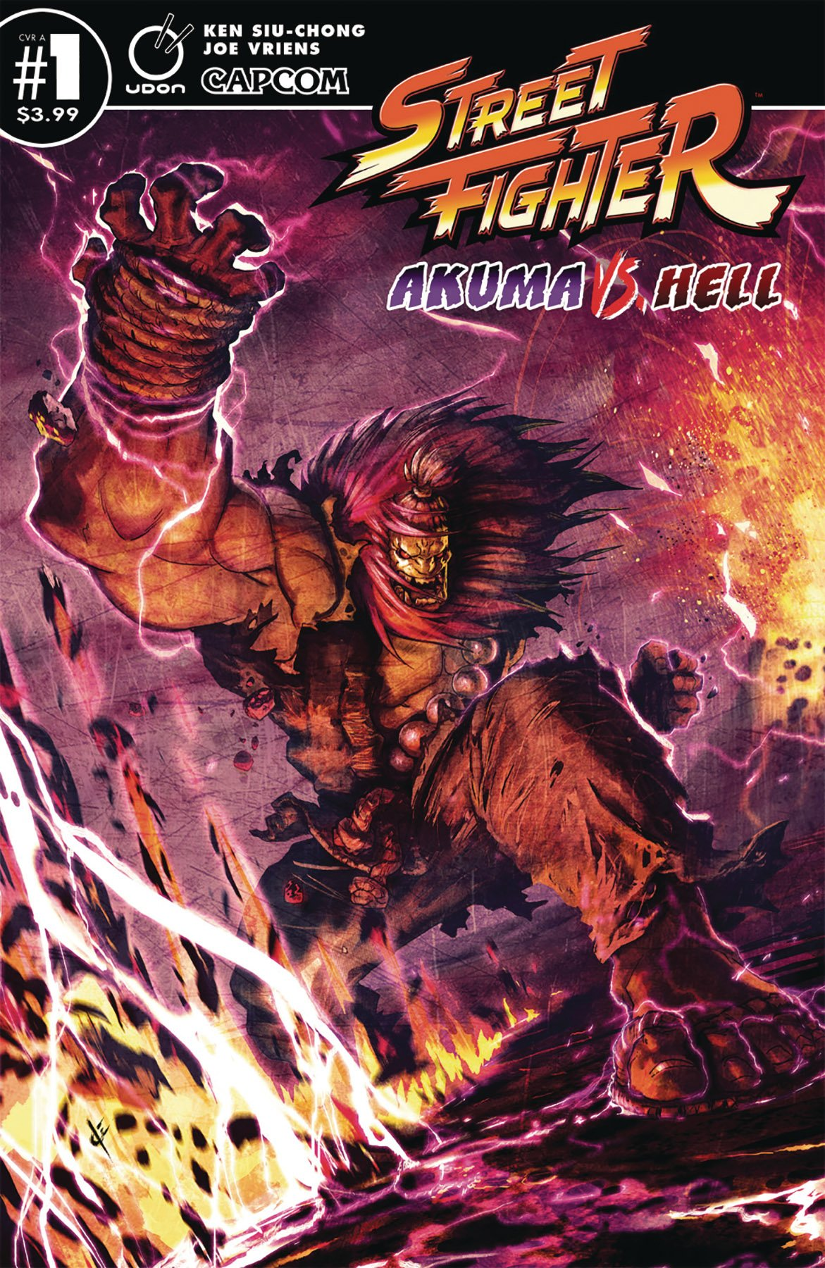 Street Fighter - Akuma vs. Hell (September 2019) (Cover A)