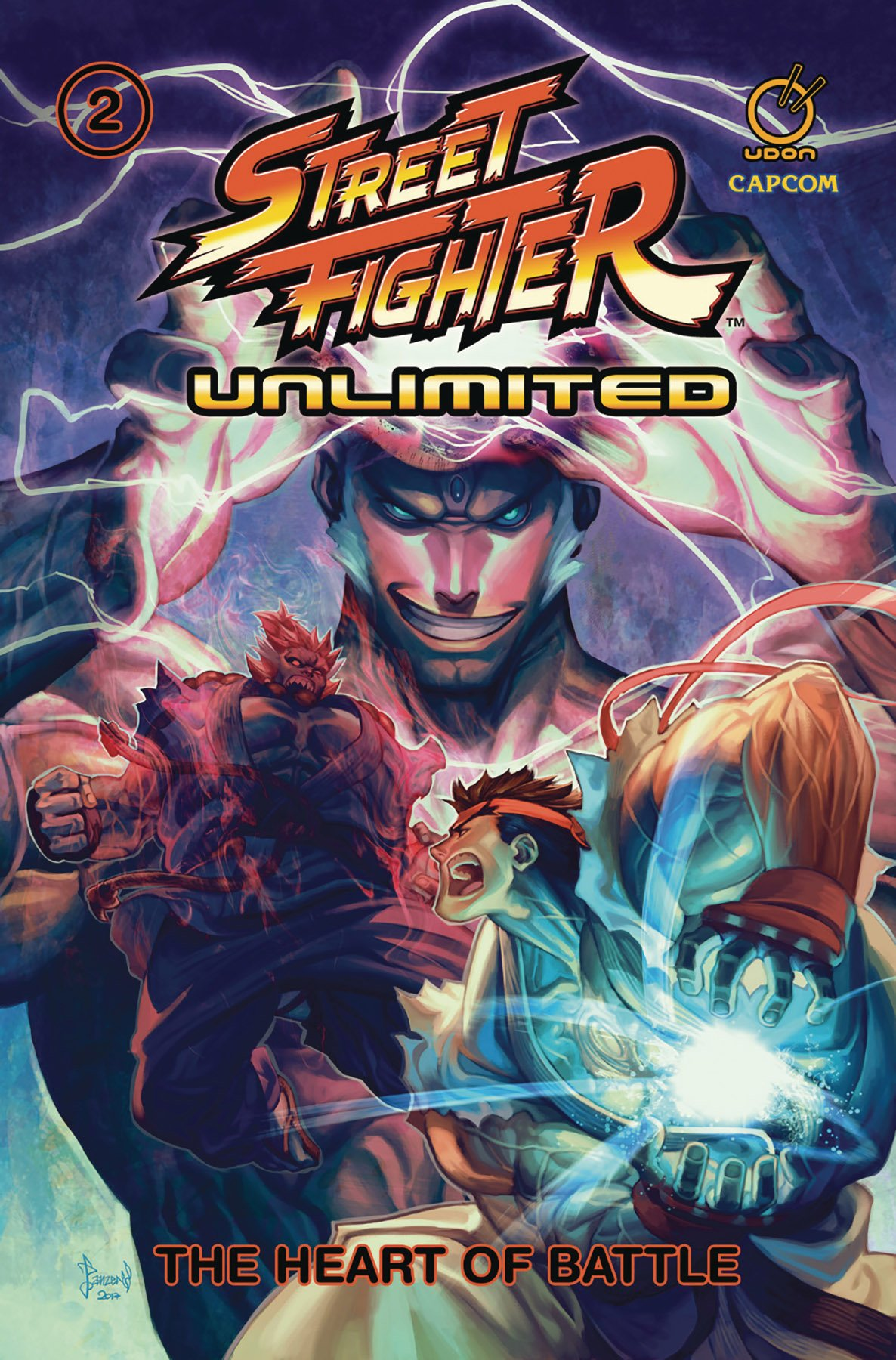 Street Fighter Unlimited TPB Vol.2 - The Heart of Battle