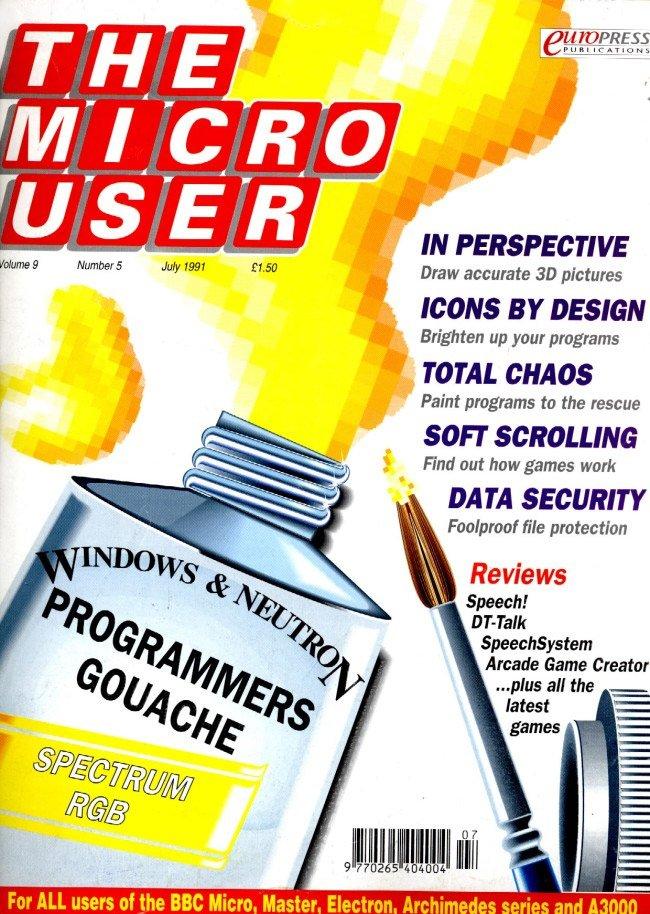 The Micro User Vol.09 No.05 (July 1991)