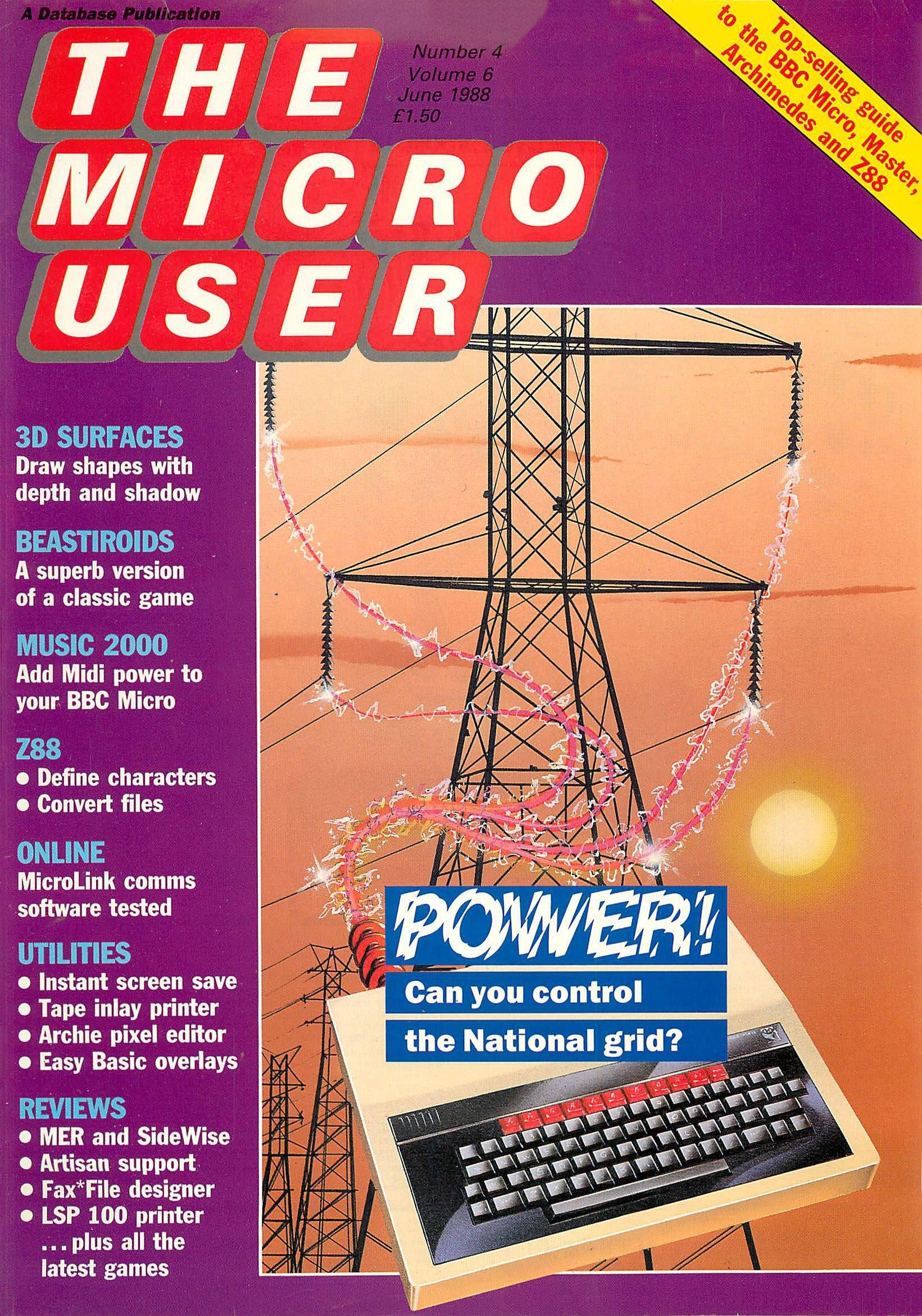The Micro User Vol.06 No.04 (June 1988)