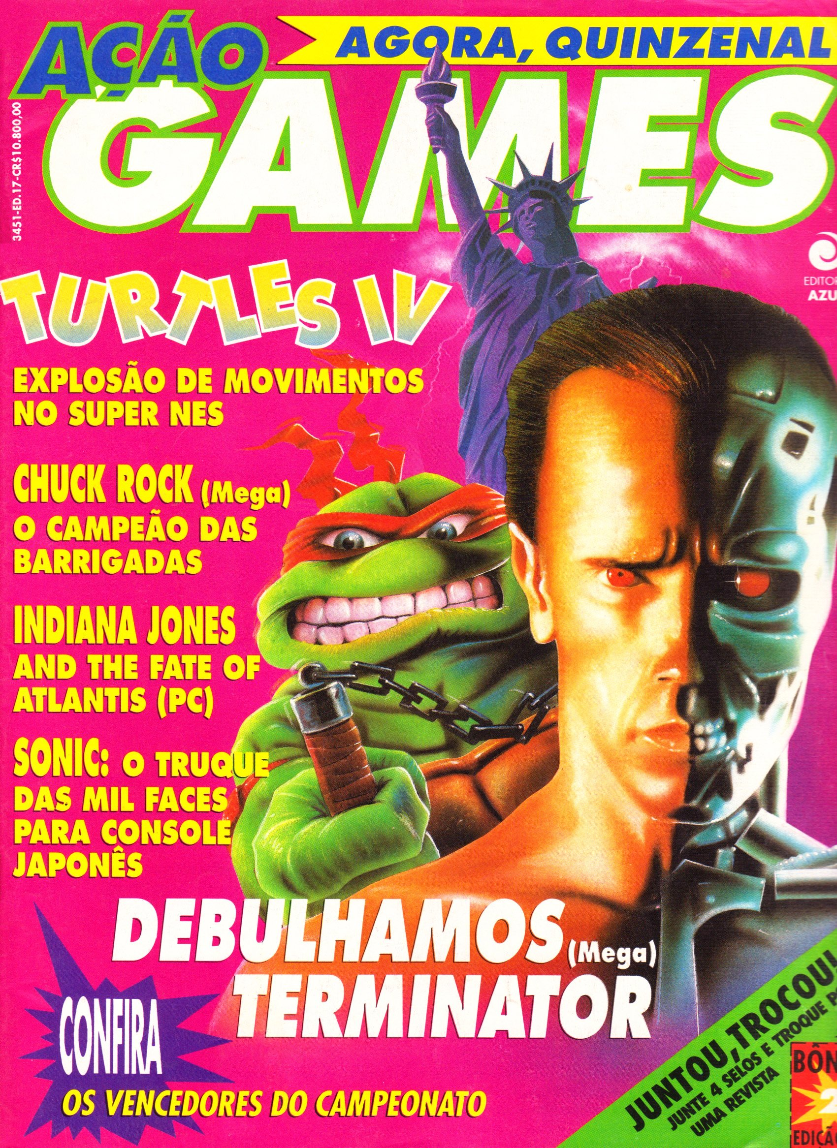 Acao Games Issue 017 (August 1992)