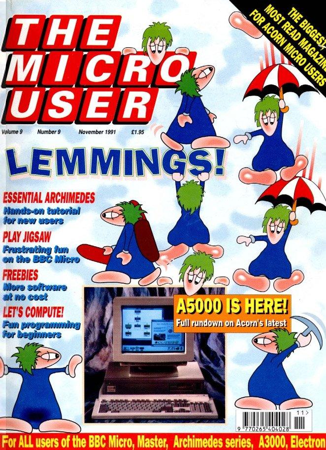 The Micro User Vol.09 No.09 (November 1991)