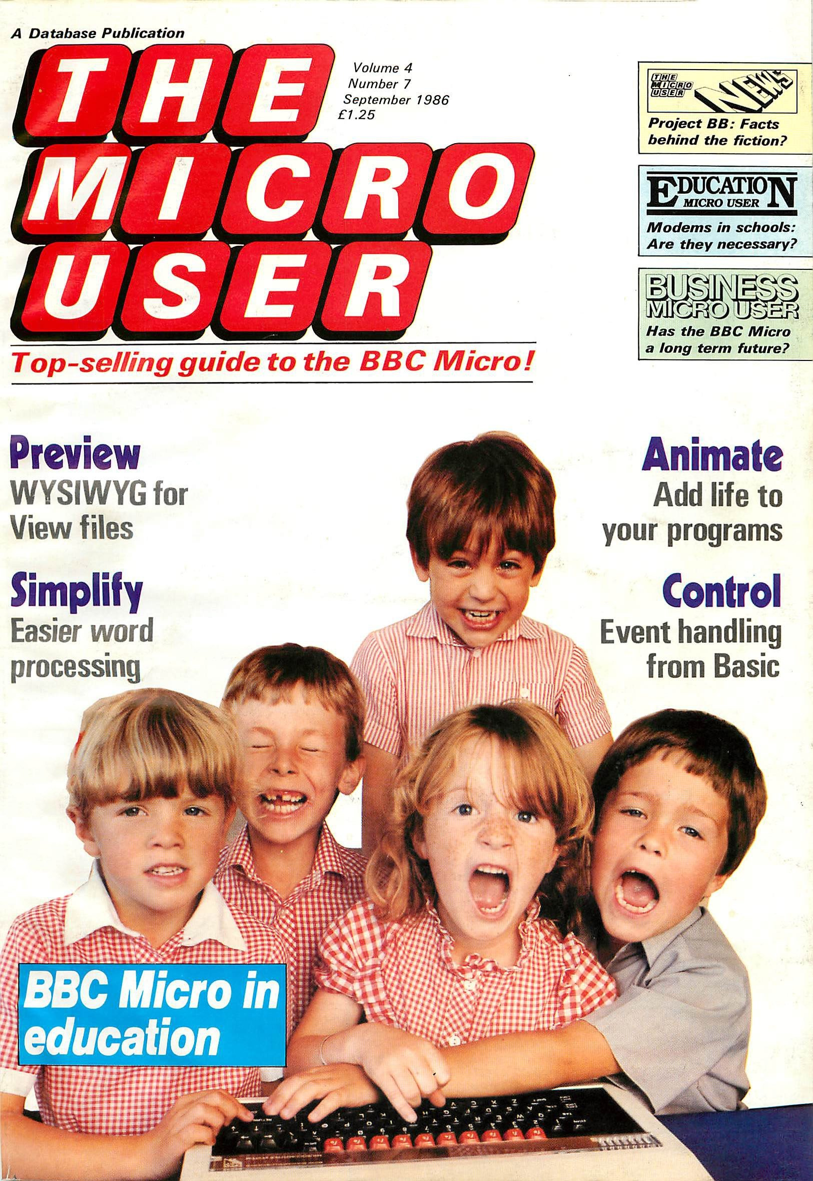 The Micro User Vol.04 No.07 (September 1986)