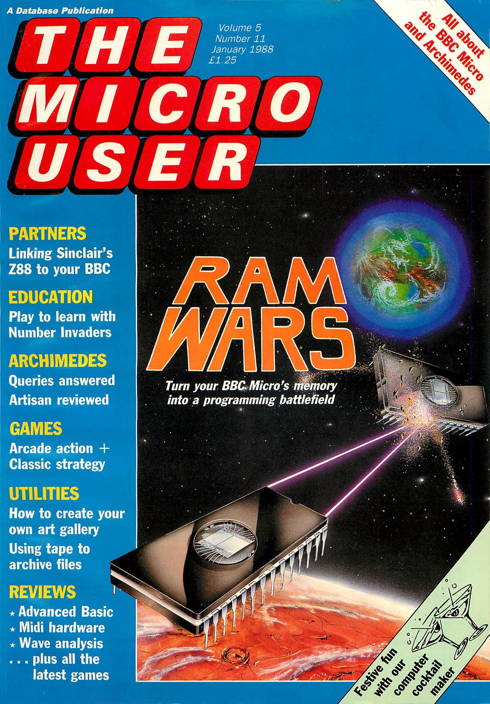 The Micro User Vol.05 No.11 (January 1988)