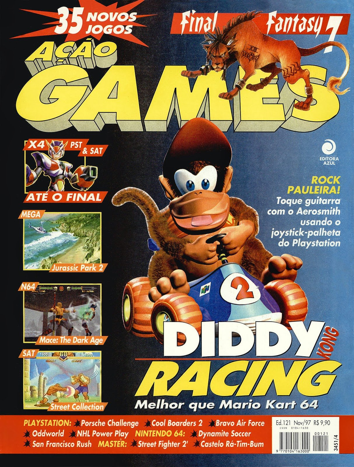 Acao Games Issue 121 (November 1997)