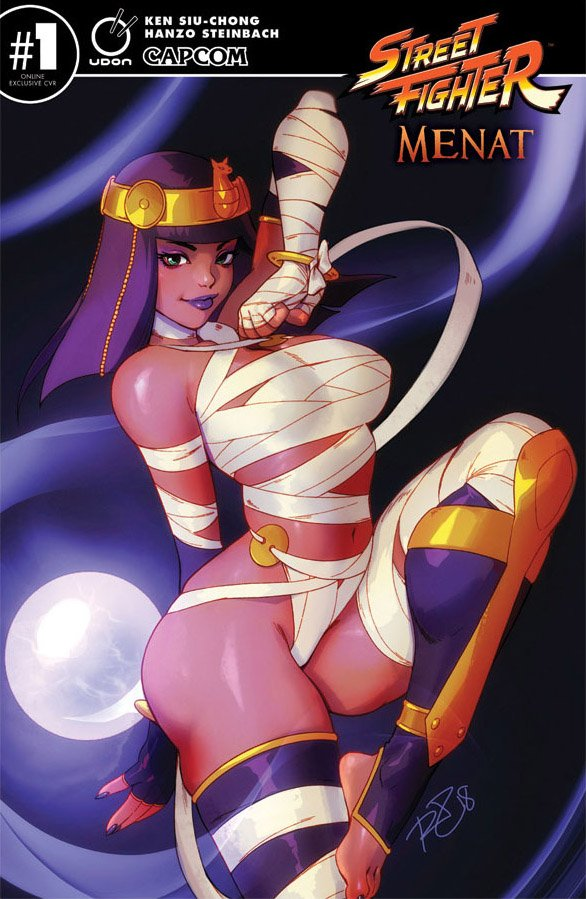 Street Fighter Menat (March 2019) (Udon online exclusive cover)