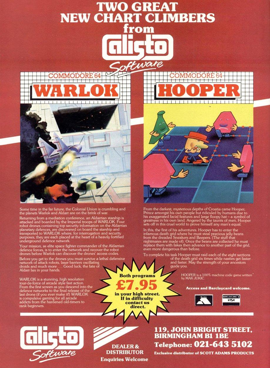 Warlock, Hooper
