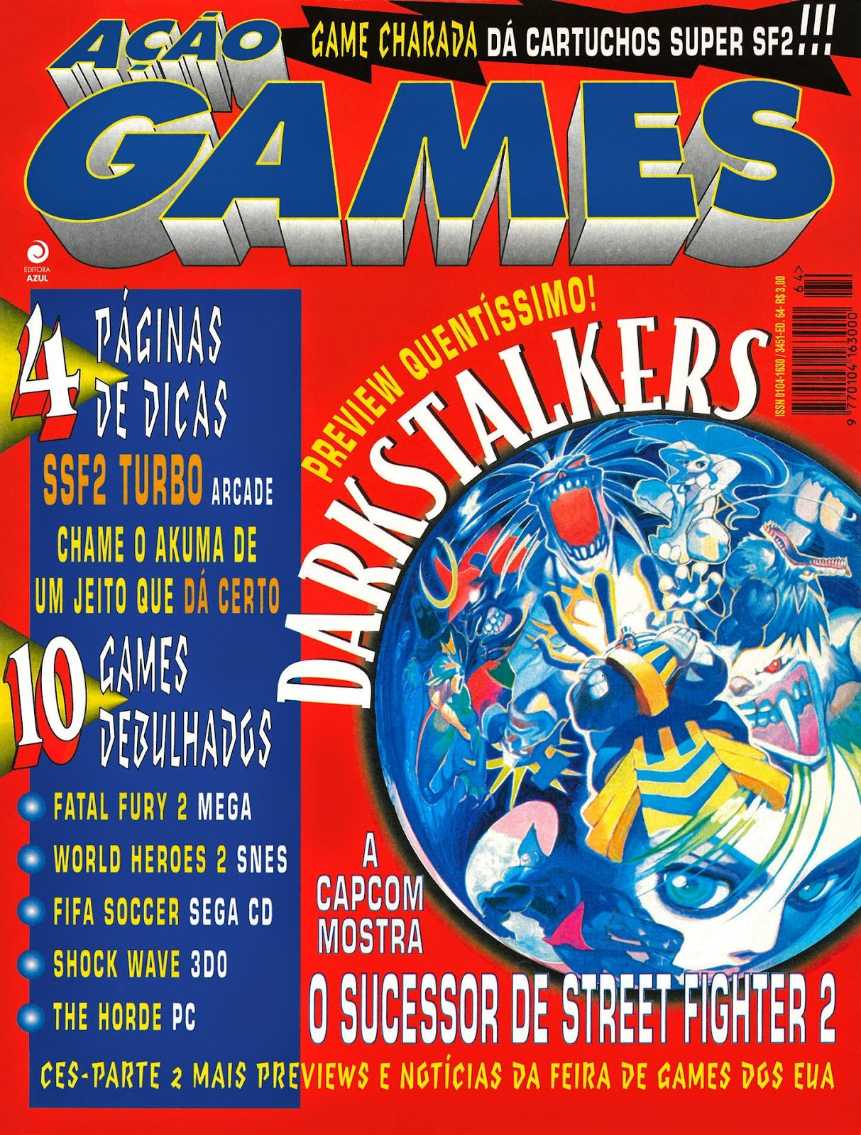 Acao Games Issue 064 (August 1994)