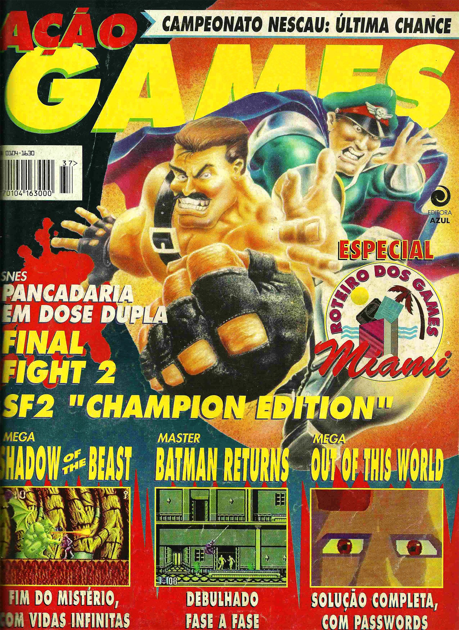 Acao Games Issue 037 (June 1993)