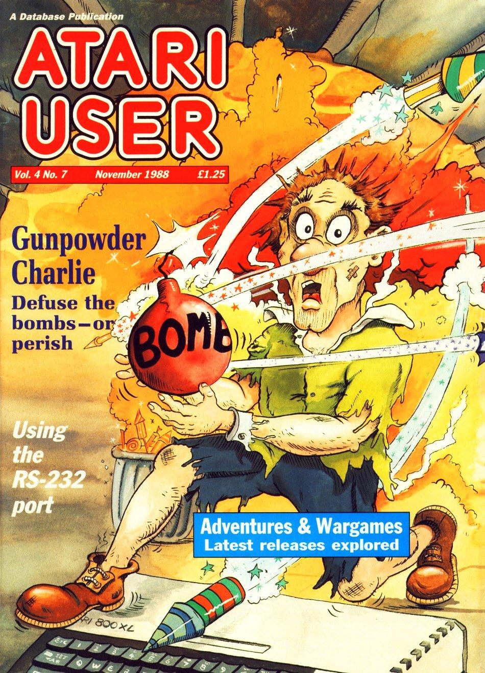 Atari User Vol. 04 No. 07 (November 1988)