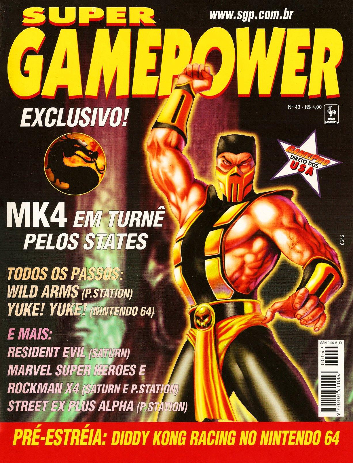 SuperGamePower Issue 043 (October 1997)
