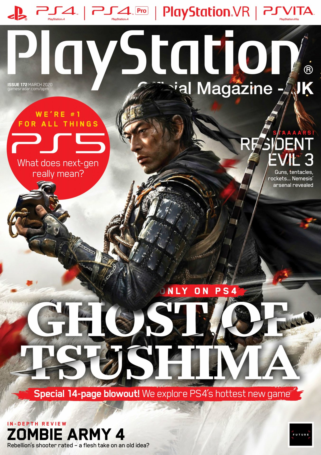 Playstation Official Magazine UK 172 (March 2020)