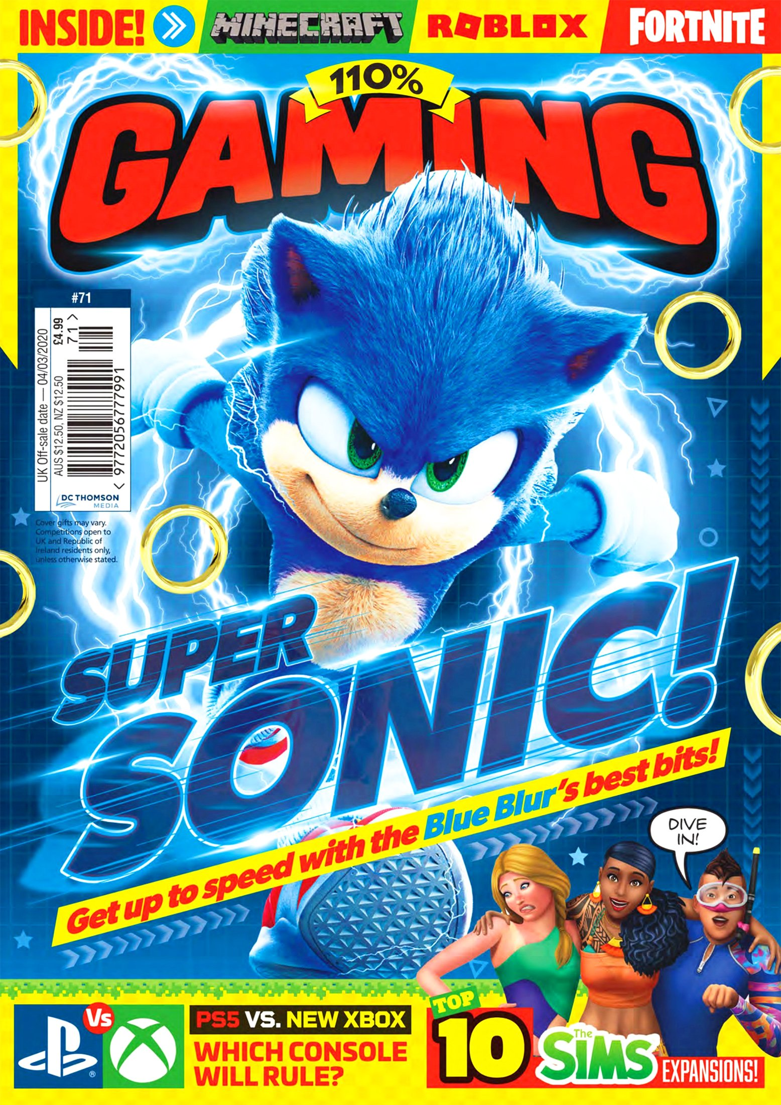 110% Gaming Issue 071 (February 2020)