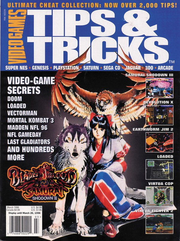 Tips & Tricks Issue 013 March 1996