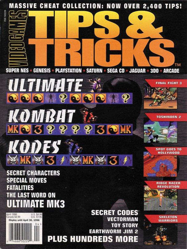 Tips & Tricks Issue 014 April 1996