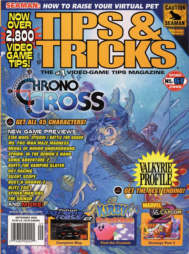 Tips & Tricks Issue 067 September 2000