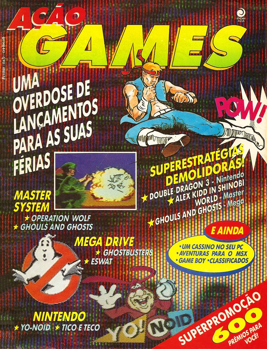 Acao Games Issue 002 (June 1991)