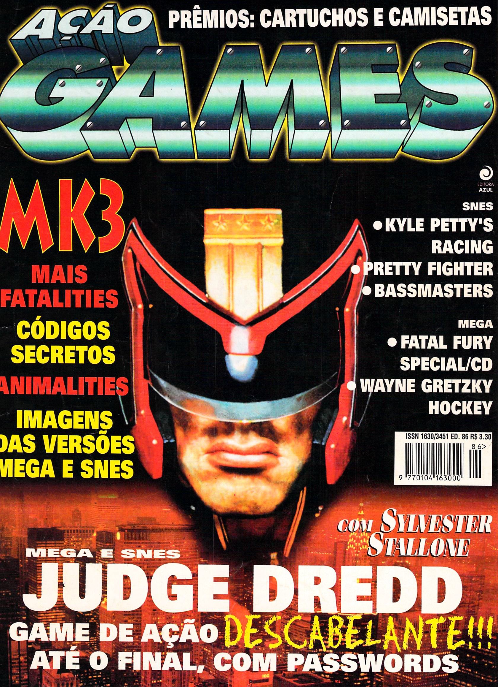 Acao Games Issue 086 (July 1995)