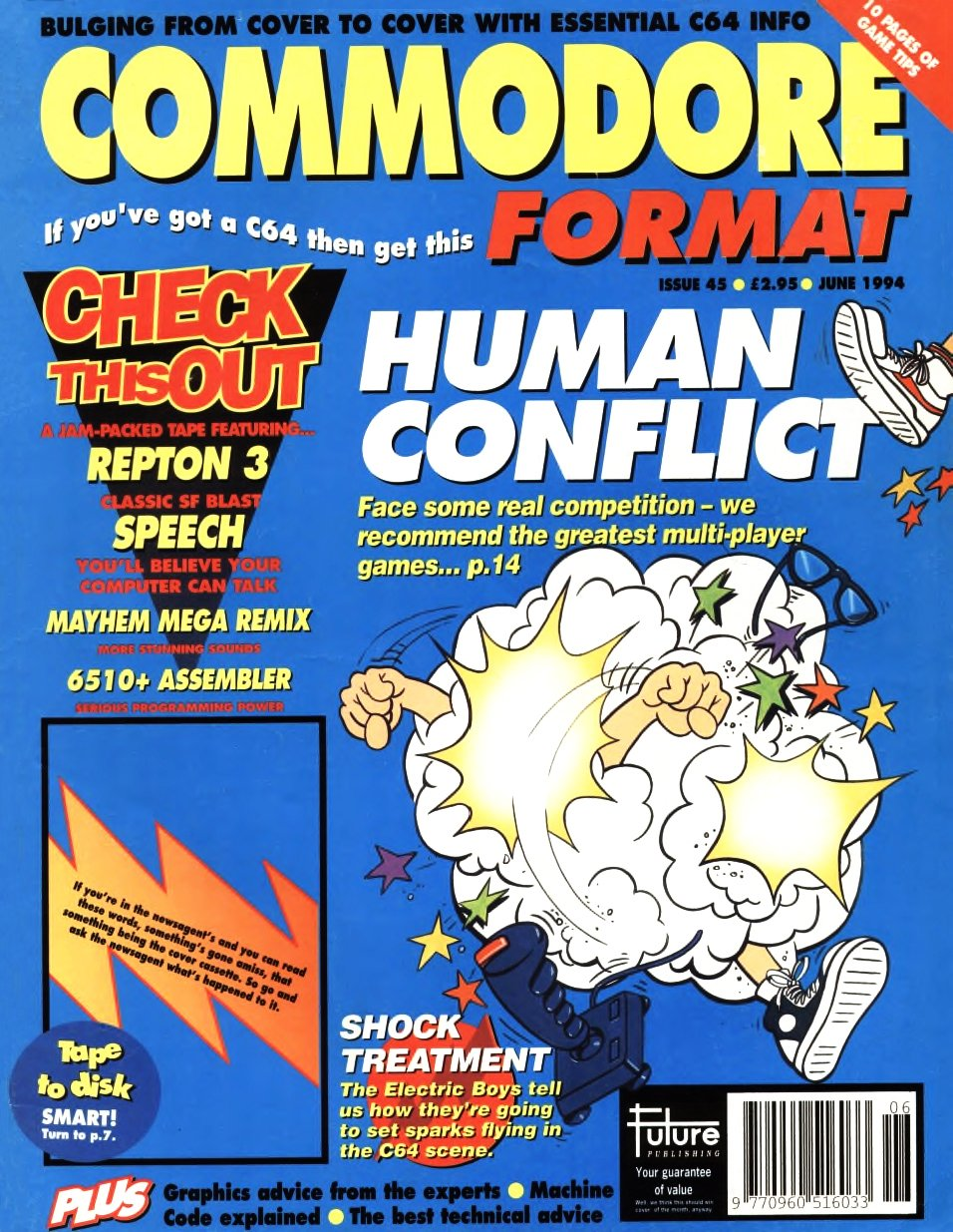 Commodore Format Issue 45 (June 1994)