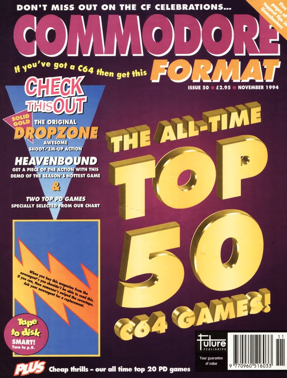 Commodore Format Issue 50 (November 1994)