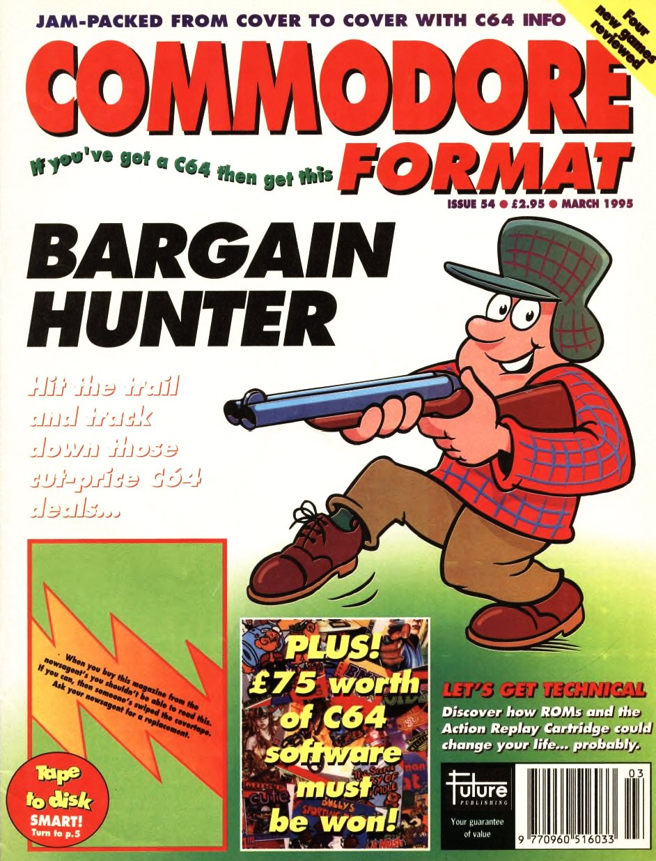 Commodore Format Issue 54 (March 1995)