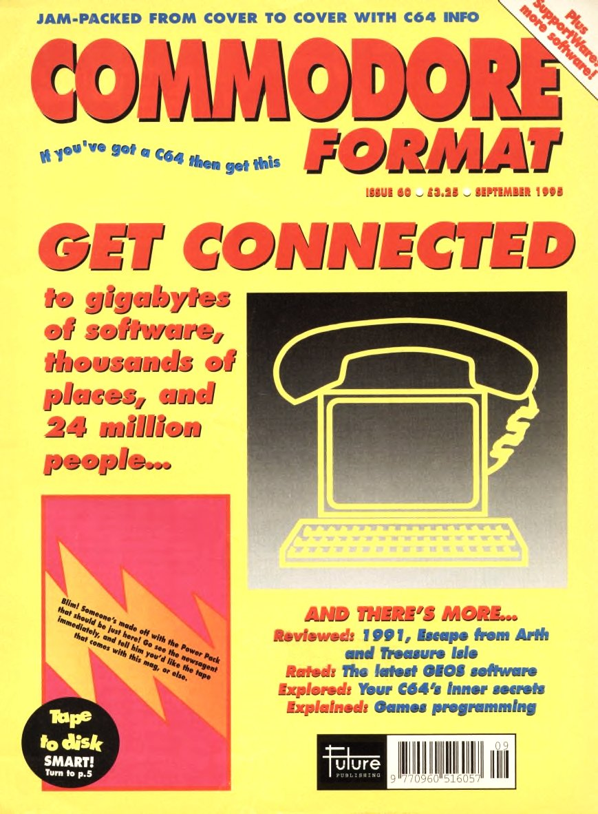 Commodore Format Issue 60 (September 1995)
