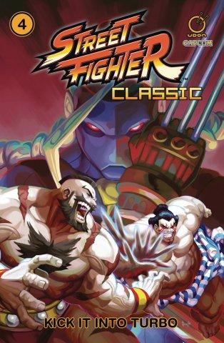 Street Fighter Classic TPB Vol.4 - Kick It Into Turbo