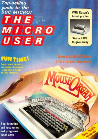 The Micro User Vol.03 No.06 (August 1985)