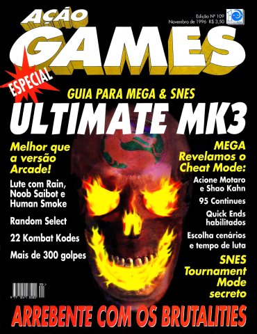 Acao Games Issue 109 (November 1996)
