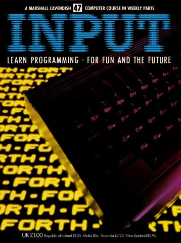Input Issue 47 (1985)
