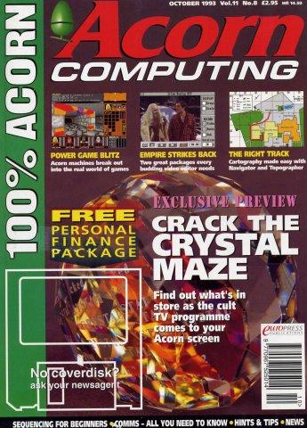 Acorn Computing Vol.11 No.08 (October 1993)